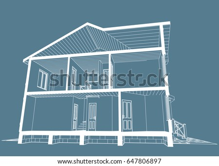 House Front View Stock Images, Royalty-Free Images & Vectors ...