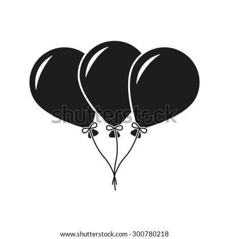 Balloon silhouette stock images royalty free images amp vectors shutterstock