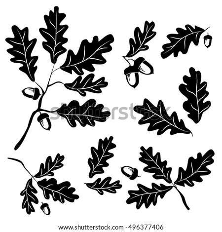 Oak Leaf Silhouette