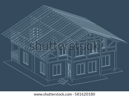 House Blueprint Stock Images Royalty Free Images Vectors