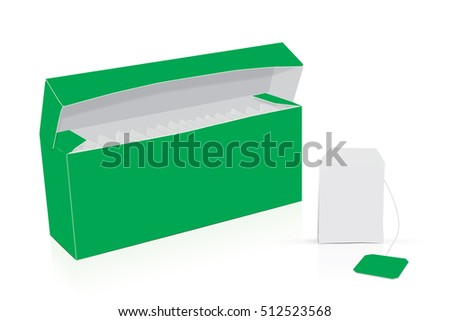 The box  for your logo and design. Easy to change colors. EPS10