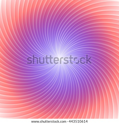 The bright sun rays. Red and blue colors.  Element for your design. Bright template. Vector illustration. - stock vector