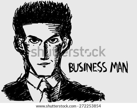 The Business Man Background Vector