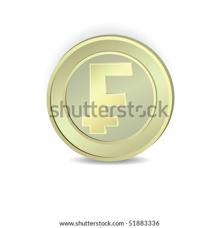 Coin Symbol French Franc Vector Stock Vector 51883336 Shutterstock