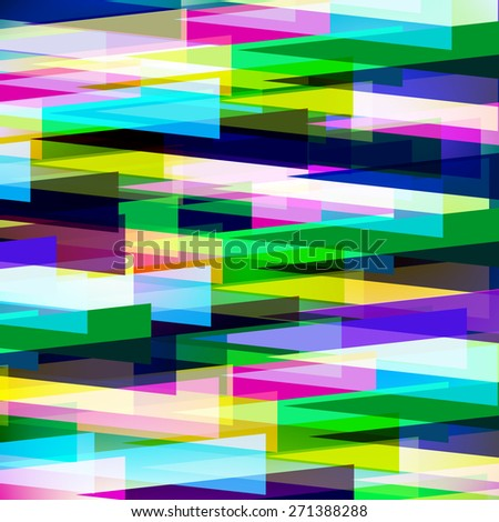 the colorful abstract background