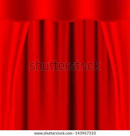 the design element, Drapes, image, Vector - stock vector