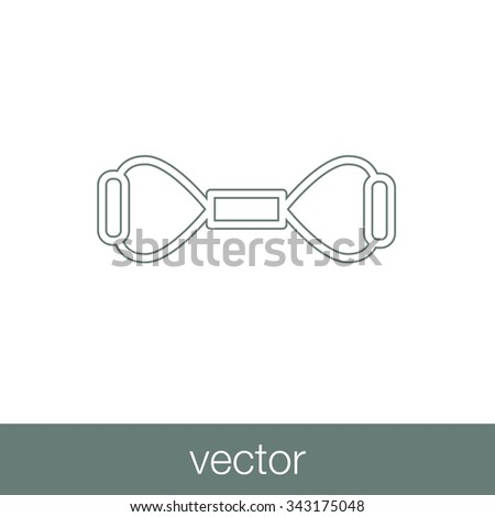 The expander icon. Expander symbol. Concept flat style design illustration icon. - stock vector