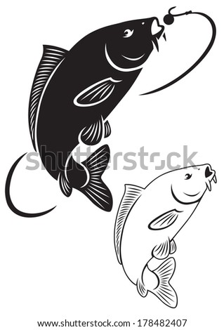 the figure shows the carp fish