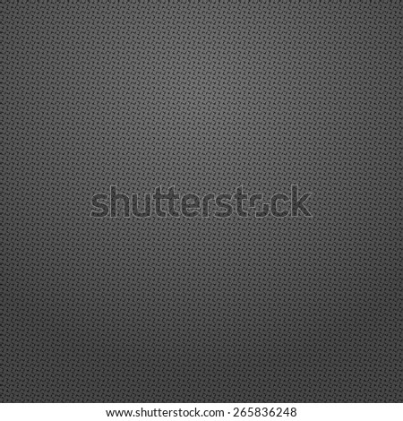 The geometric pattern by squares. Seamless vector background. Black texture.