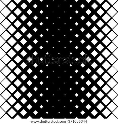 The geometric pattern of the square mesh, seamless vector background. - stock vector