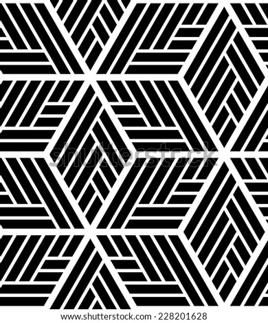 The geometric pattern. Seamless vector background. Dark texture.