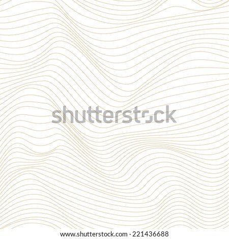 The geometric pattern. Seamless vector background with abstract wave texture.  - stock vector