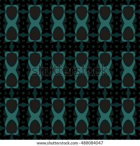The geometric texture. Boho-chic fashion. Abstract geometric ornaments. Vector illustration. Pattern for textile, print or web design.