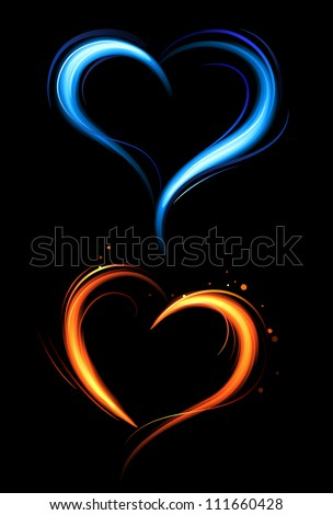 Flaming Heart Stock Images Royalty Free Images Amp Vectors