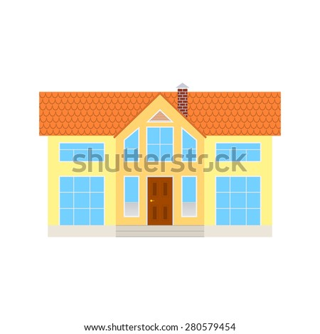 the house isolated on white background