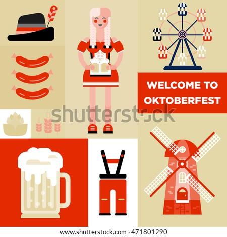 Wind Beer Food Festival Flyers