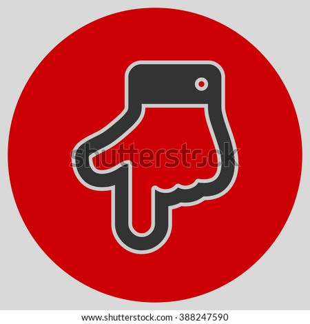 Index Finger Pointing Down Hand Gestures Stock Photo Photo Vector