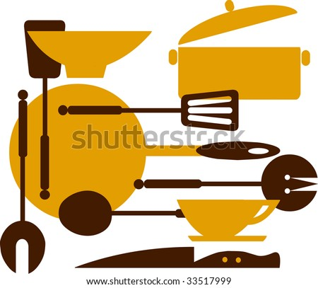 The kitchenware icons