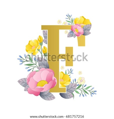 The Letters Of Alphabet With Beautiful Colors On A White Background Vector Illustration