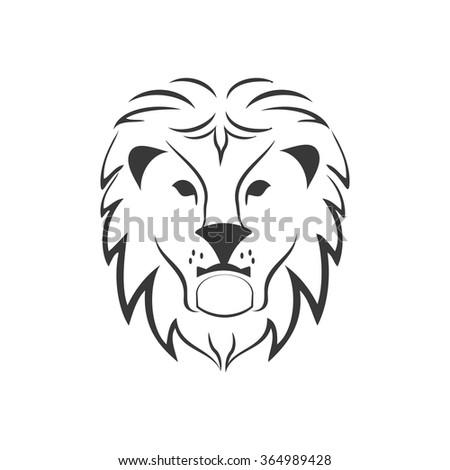 lion vector icon stock vector 375173494 - shutterstock