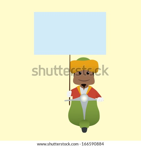 The Magi set doing actions for use in advertising, presentations, brochures, documents, forms, etc. - stock vector