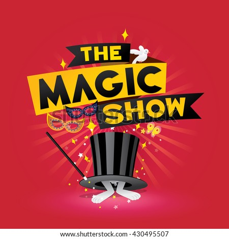 Red stage curtain with lights - Magic Show Stock Images Royalty Free Images Amp Vectors