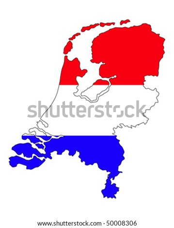 Netherlands country border line dutch flag stock vector hd royalty the netherlands country border line with dutch flag gumiabroncs Choice Image