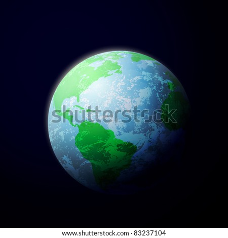 The Planet Earth from Space