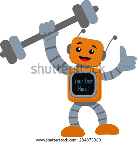 The Power of Technology - stock vector