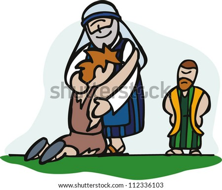 prodigal son this son mine dead stock vector 112336103 shutterstock rh shutterstock com lost and found clipart images lost and found clipart images