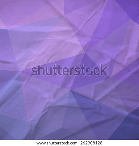 The retro triangle paper background. Vector illustration. Eps 10 - stock vector