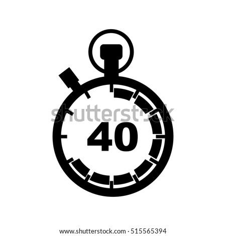 timer for 40 mins