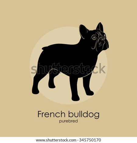 Bulldog Silhouette Stock Images, Royalty-Free Images ...