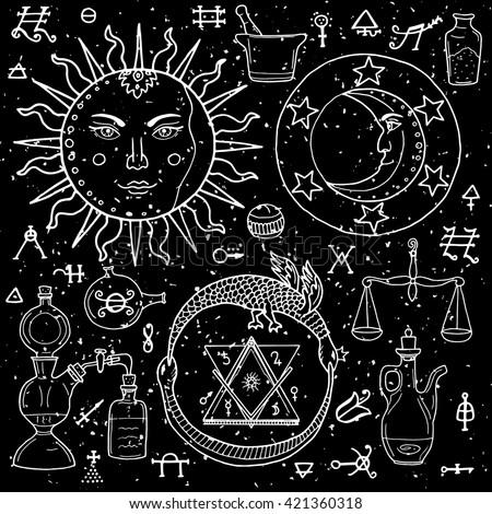 Sacred Geometry Hand Tattoo