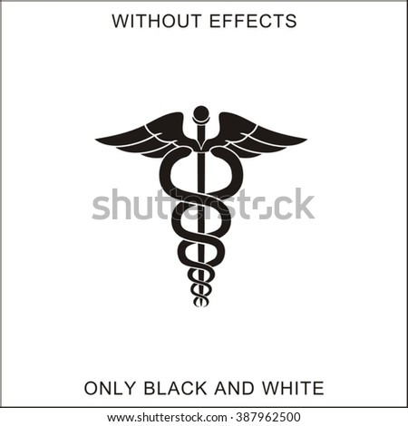The symbol of physicians