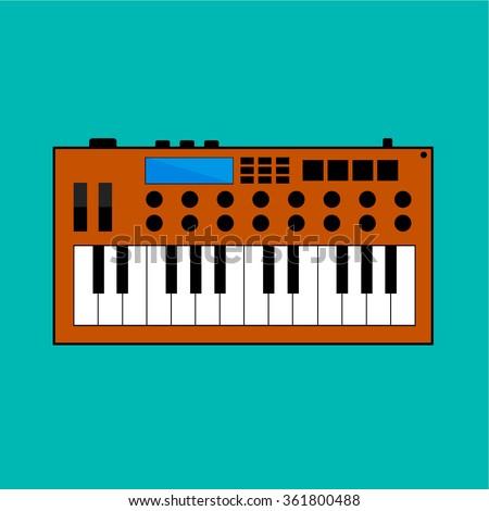 drum machine music stock photos royalty free images vectors shutterstock. Black Bedroom Furniture Sets. Home Design Ideas