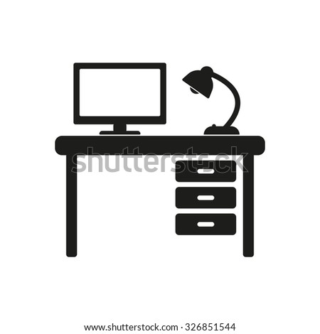 Desk Silhouette Stock Images, Royalty-Free Images ...