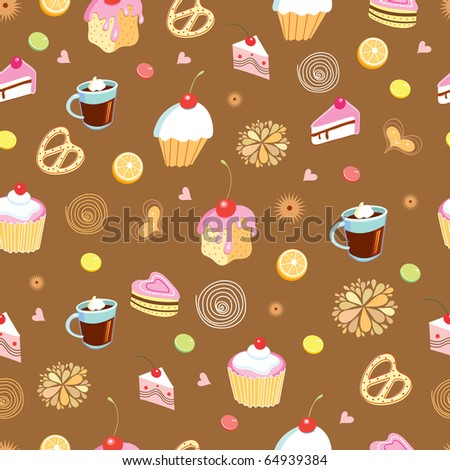 The texture of cakes