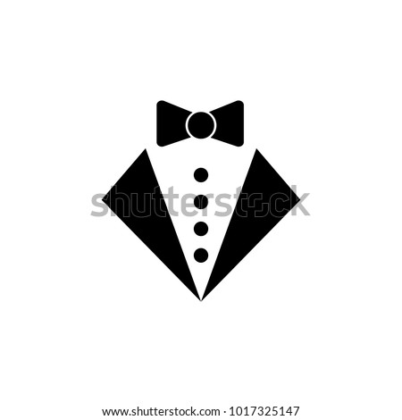the tuxedo icon. Element of party and fun icon. Premium quality graphic design icon. Signs and symbols collection icon for websites, web design, mobile app on white background