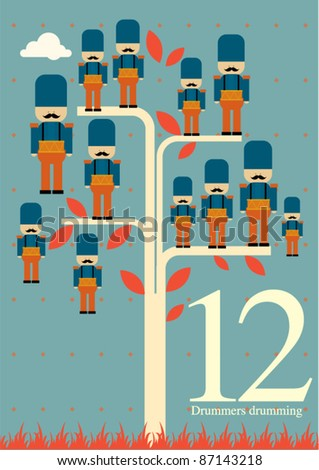 Twelve Days Of Christmas Stock Images, Royalty-Free Images ...