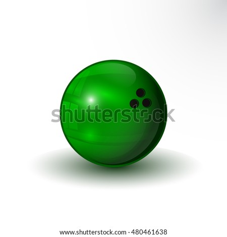 the vector bowling ball