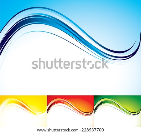 The vector illustration contains the image of abstract background - stock vector