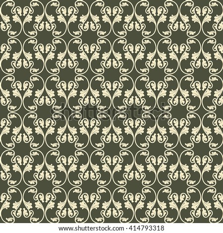 The vector image Vector seamless pattern - stock vector