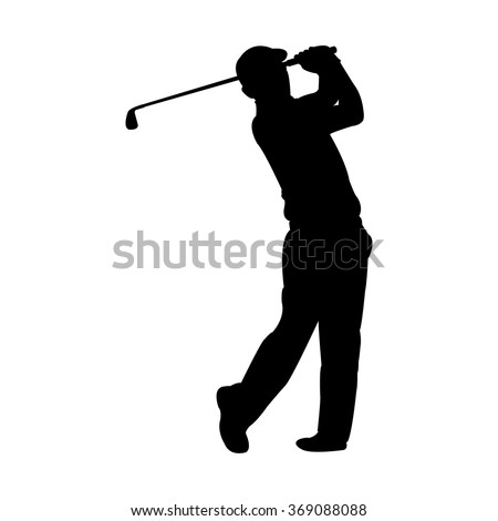 Golf hole cup clipart