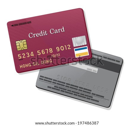 The view of credit card