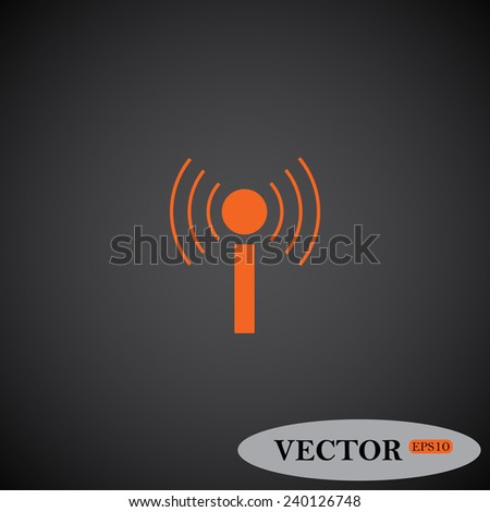 The wireless network ,  vector, EPS 10