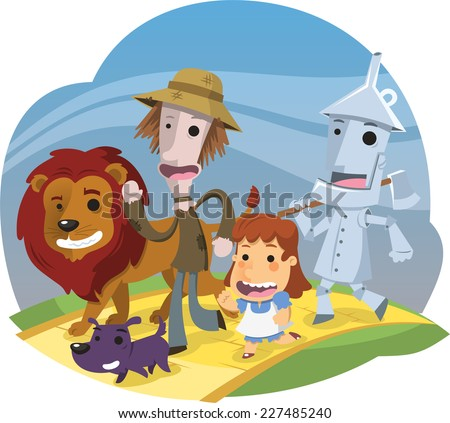 Wizard Of Oz Characters Dorothy Clipart