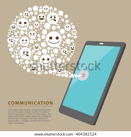 The world of communication, everything was just a smart phone. Smart phone can communicate around the world.