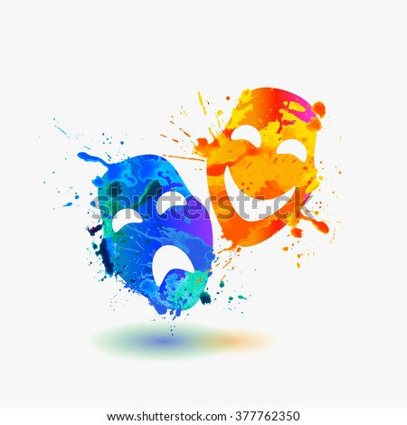 Drama Masks Stock Photos, Images, & Pictures | Shutterstock