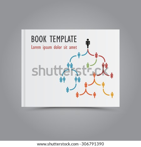 Themed Book Cover Template Graphic Business Stock Vector Hd Royalty